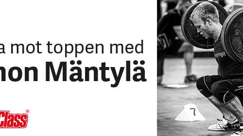 Träna mot toppen med Simon Mäntylä